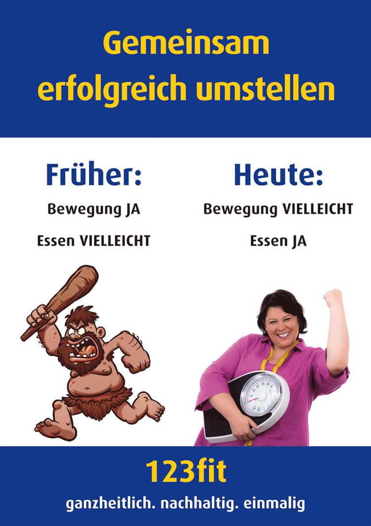 Bewegung und Essen - 123fit-Rahlstedt